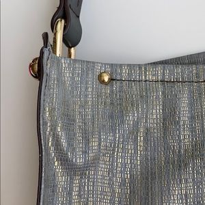 Sondra Robert's Squared Metallic Bag 07167